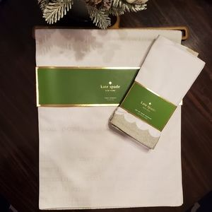 Kate Spade New York Table Linen Set - NWT